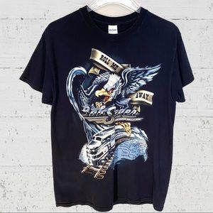 Bob Seger Rock N' Roll 2011 Tour Concert T-Shirt